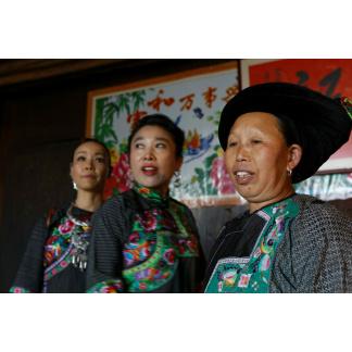3 women in China