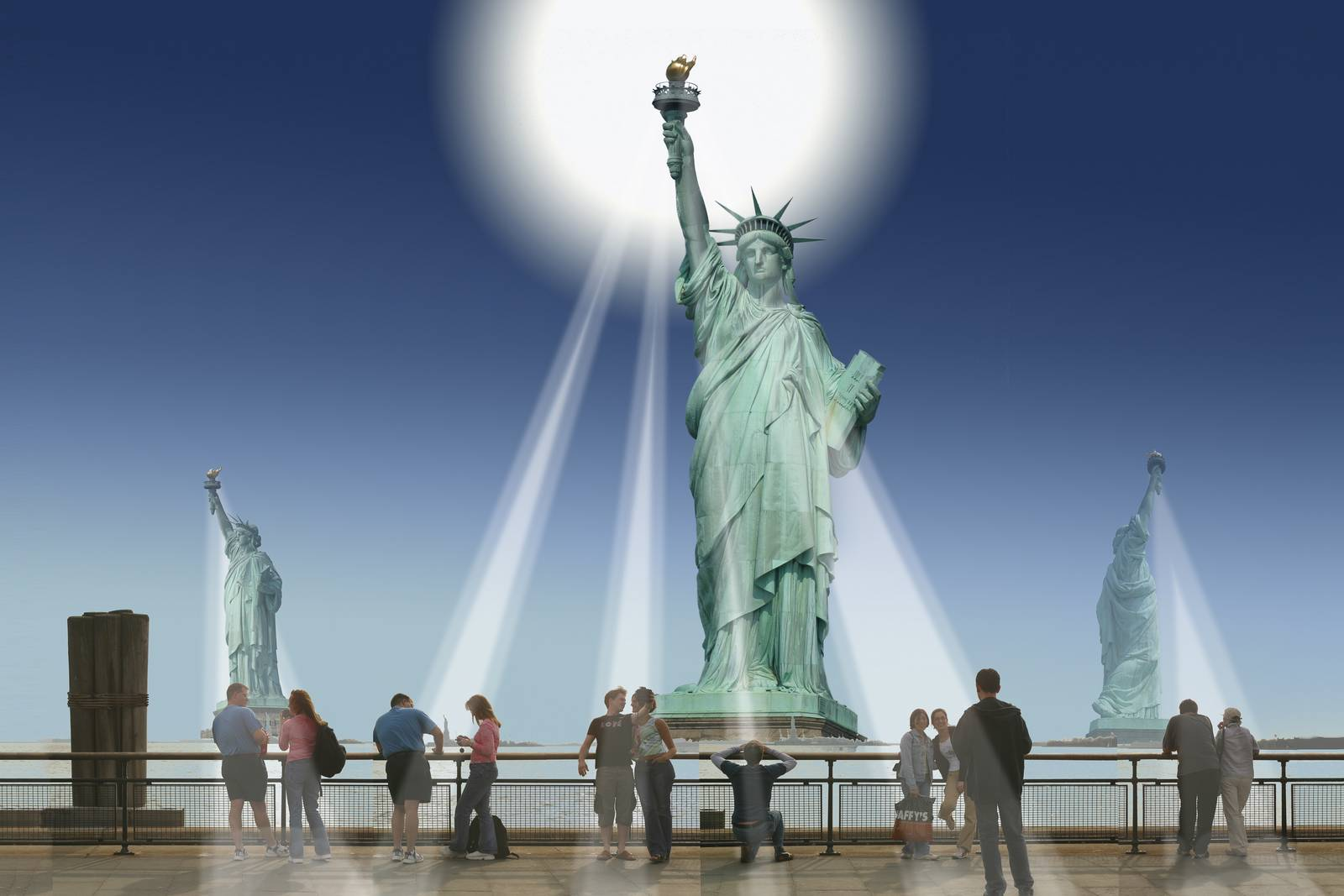 Liberty pier, New York